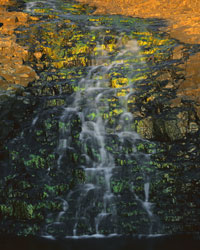 Emerald Waterfall, Table Mountain; Cherokee, California